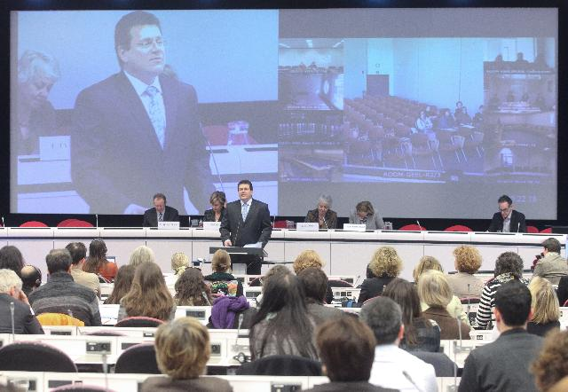 Participation of Maroš Šefčovič, Vice-President of the EC, at the conference Our commitment to Equality - what we stand for