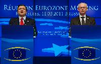 Participation of José Manuel Barroso, President of the EC, at the Eurozone meeting
