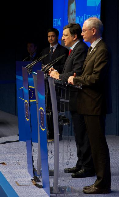 Participation of José Manuel Barroso, President of the EC, at the Euro Summit