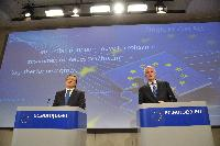 Joint press conference by José Manuel Barroso, President of the EC, and Michel Barnier, Member of the EC, on the Single Market Act