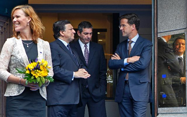 Visit of José Manuel Barroso, President of the EC, to The Hague
