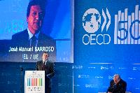 Participation of José Manuel Barroso, President of the EC, in the public commemoration of the 50th anniversary of the OECD