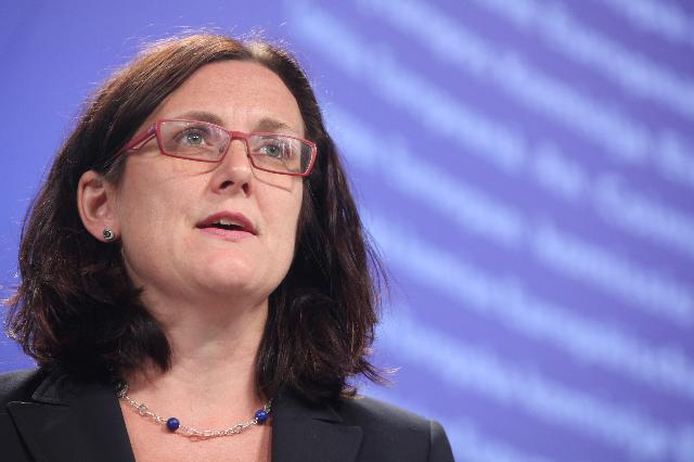 Press conference by Cecilia Malmström, Member of the EC, on the anti-corruption package