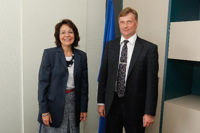 Meeting between Jari Koskinen, Finnish Minister for Agriculture and Forestry, and Maria Damanaki, Member of the EC