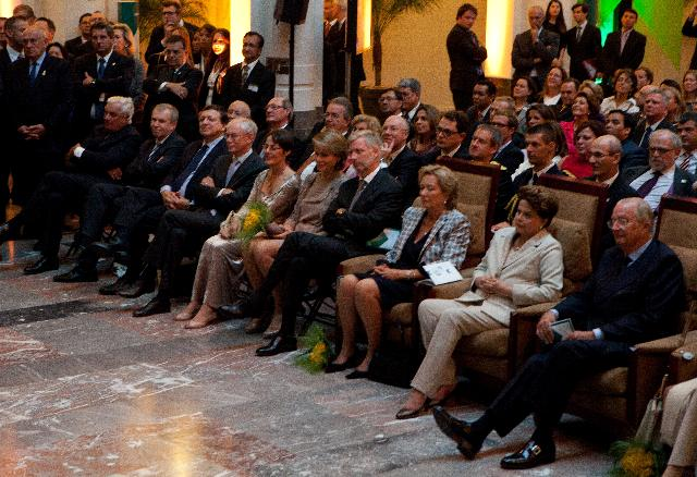Participation of José Manuel Barroso, President of the EC, in the private opening of the europalia.brasil exhibition