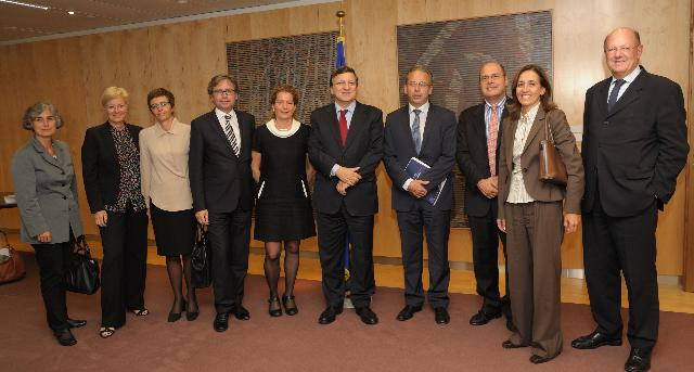 Visit of a delegation of the European Broadcasting Union to the EC