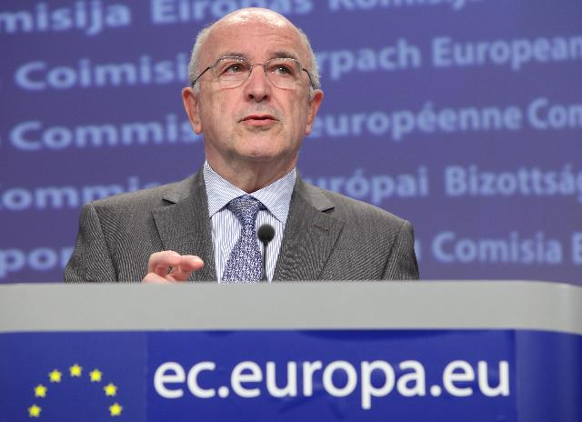 Press conference by Joaquín Almunia, Vice-President of the EC, on the extension of the state aid control rules for banks during the crisis