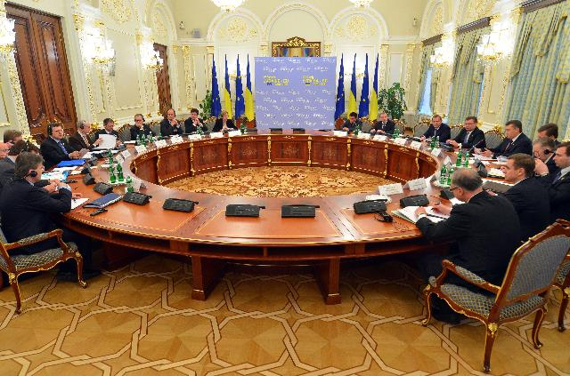 EU/Ukraine Summit, 19/12/2011