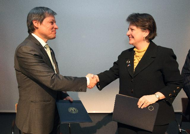 Signature de l'accord UE/Etats-Unis sur les produits biologiques