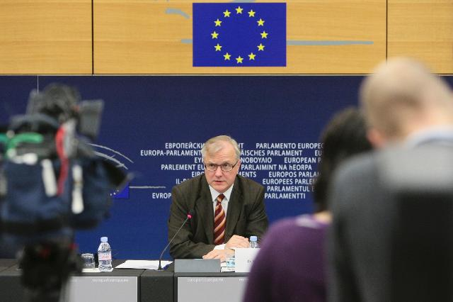 Press conference by Olli Rehn, Vice-President of the EC, on the Alert Mechanism Report