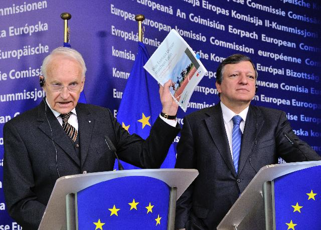 Visit of Edmund Stoiber, Chairman of the High Level Group on Administrative Burdens Reductions, to the EC