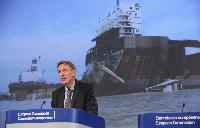 Press conference by Janez Potočnik, Member of the EC, on tightening laws on ship breaking