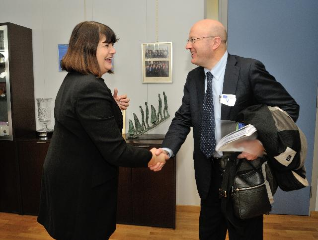 Visit of Mark Ferguson, Director-General of Science Foundation Ireland, to the EC