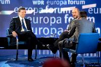 Participation of José Manuel Barroso, President of the EC, in the 15th International WDR Europaforum