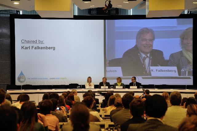 Lancement de la Semaine verte 2012