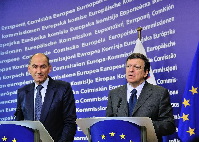 Visit of Janez Janša, Slovenian Prime Minister, to the EC