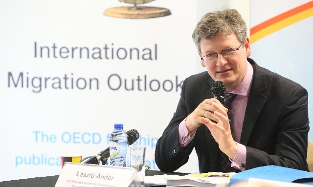 Press conference on the 2012 international migration outlook of the OECD