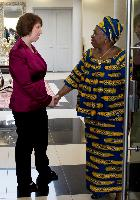 Visit of Catherine Ashton, Vice-President of the EC, to South Africa