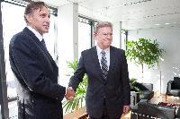 Visit of Ranko Krivokapić, President of the Montenegrin Parliament, to the EC