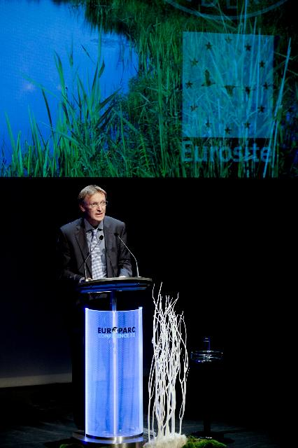 Participation of Janez Potočnik, Member of the EC, at the opening ceremony of the 2012 Europarc conference and the celebration of the 20th anniversary of Natura 2000