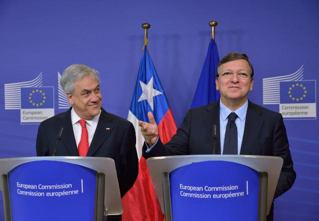 Visit of Sebastián Piñera Echenique, President of Chile, to the EC