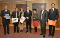 Visit of Tim Hunt and Jules A. Hoffmann, Laureates of the Nobel Prize in Physiology or Medicine, to the EC
