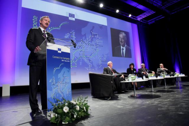 Participation of Siim Kallas, Vice-President of the EC, at the launch of the TENtec portal with dynamic maps