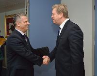 Visit of Fahrudin Radončić, Minister for Security of Bosnia and Herzegovina, to the EC