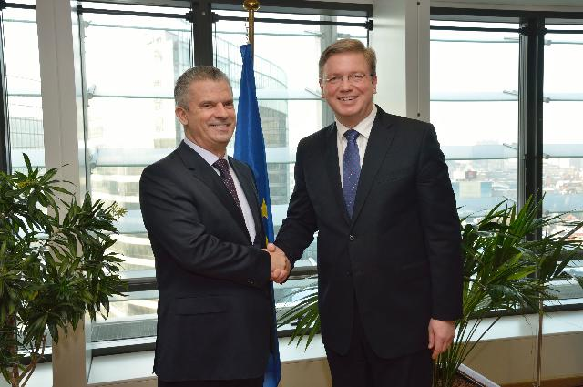 Visit of Fahrudin Radončić, Minister for Security of Bosnia and Herzegovina, to the EC