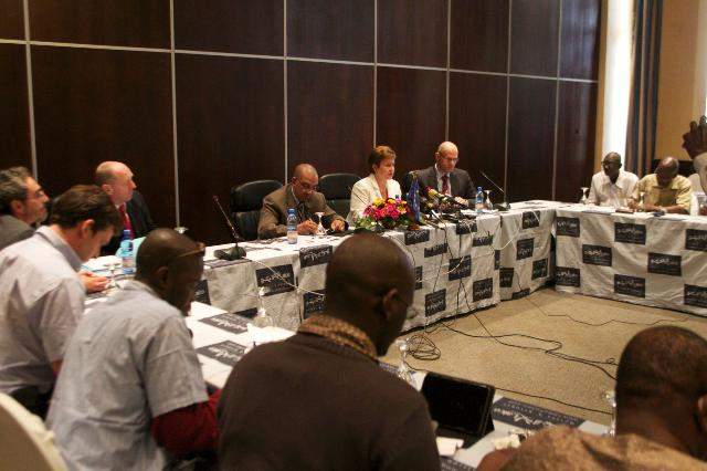 Visite de Kristalina Georgieva, membre de la CE, au Mali