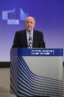 Press conference by Joaquín Almunia, Vice-President of the EC, on the decision of the EC regarding the proposed acquisition of TNT Express by UPS