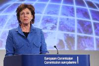 Joint press conference by Catherine Ashton and Neelie Kroes, Vice-Presidents of the EC, and Cecilia Malmström, Member of the EC, on the EU Cybersecurity plan