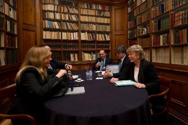 Dialogue avec les citoyens à Coimbra avec Viviane Reding