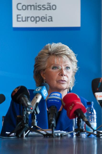 Citizens' Dialogue in Coimbra with Viviane Reding