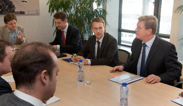 Visit of a group of Belarus European Dialogue coordinators to the EC