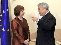 Visite de Catherine Ashton, vice-présidente de la CE, au Kazakhstan
