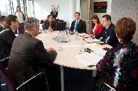 Visit of Hashim Thaçi, Kosovan Prime Minister, and Ivica Dačić, Serbian Prime Minister and Minister for the Interior, to the EC