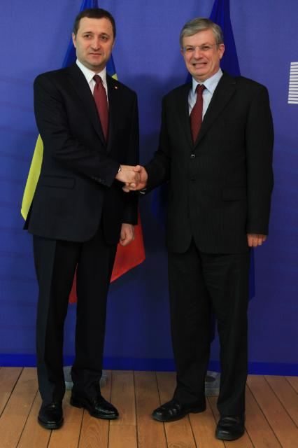 Visit of Vladimir Filat, Moldovan Prime Minister, and Iurie Leancă, Moldovan Deputy Prime Minister and Minister for Foreign Affairs and European Integration, to the EC