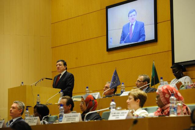 6th EU/African Union Commission meeting, 26/04/2013