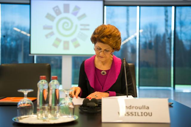 Participation of Androulla Vassiliou to the Annual Council of Ministers for Culture of South Europe