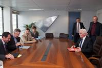 Visit of Frank-Walter Steinmeier, Chairman of the Social Democrats' (SPD) parliamentary group in the German parliament, the Bundestag, to the EC