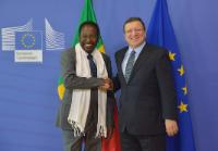 Visit of Dioncounda Traoré, President of Mali ad interim, to the EC