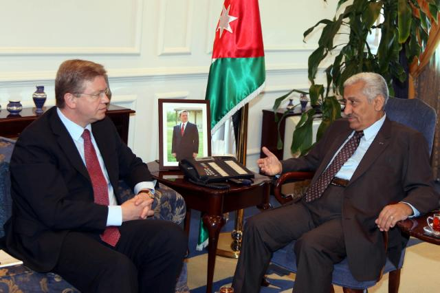 Visit of Štefan Füle, Member of the EC, to Jordan