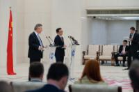 Visite de Karel De Gucht, membre de la CE, en Chine