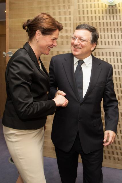 Visit of Alenka Bratušek, Slovenian Prime Minister, to the EC