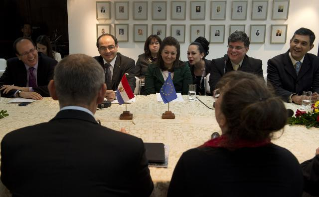 Visit of Andris Piebalgs, Member of the EC, to Paraguay
