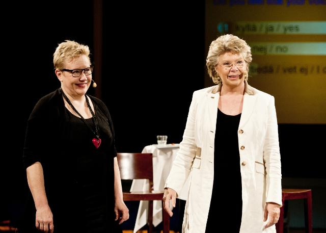 Citizens' Dialogue in Helsinki with Viviane Reding