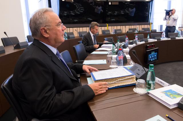 Weekly meeting of the Barroso II Commission in Strasbourg