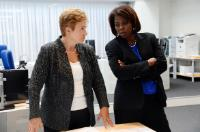 Visit of Ertharin Cousin, Executive Director of the WFP, and Elisabeth Rasmusson, Assistant Executive Director of the WFP, to the EC and to the European Emergency Response Centre