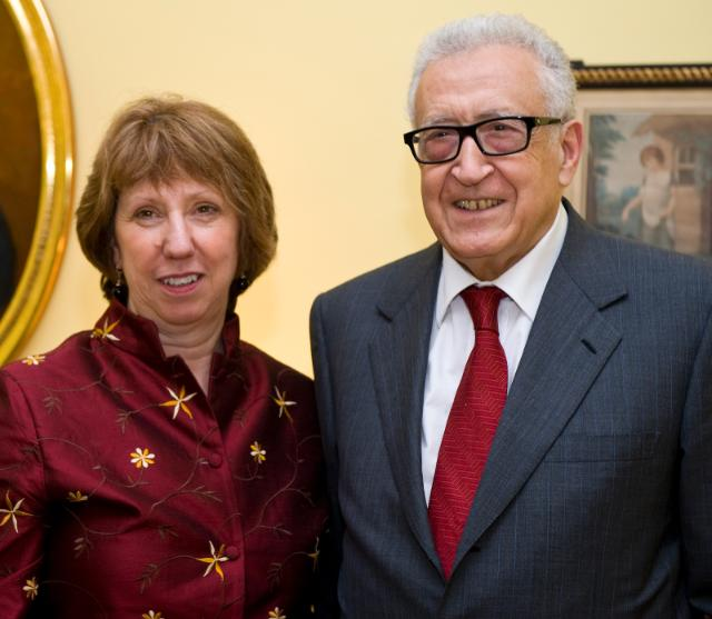 Visit of Catherine Ashton, Vice-President of the EC, to the United States